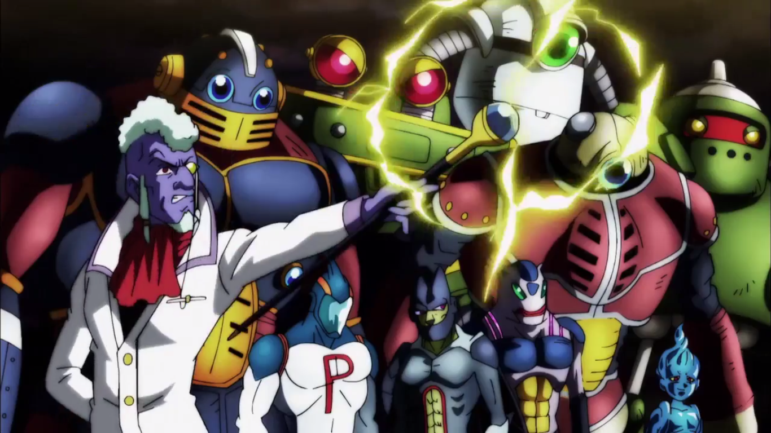 Dragon Ball Super all 8 Universes in the Tournament