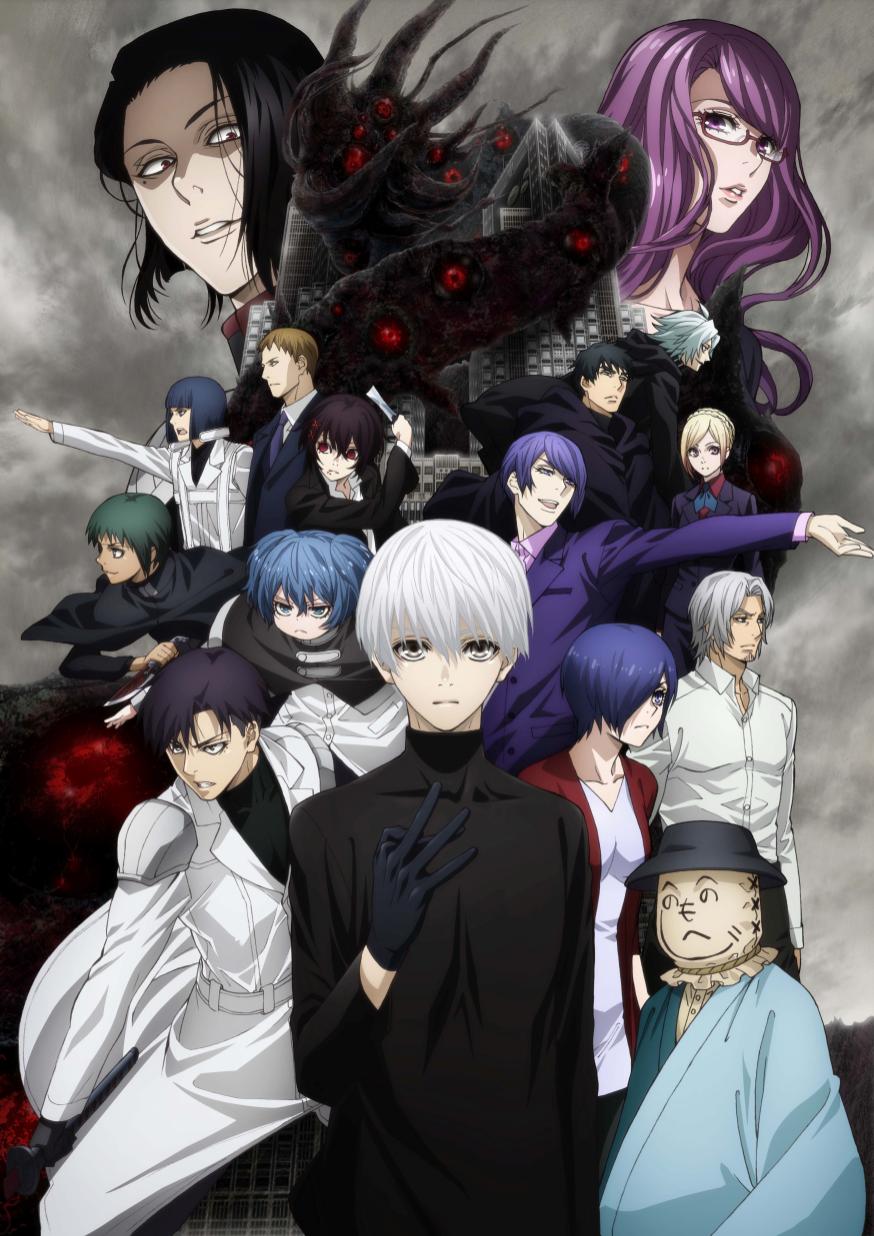 Tokyo Ghoul:re Season 2 New Key Visual