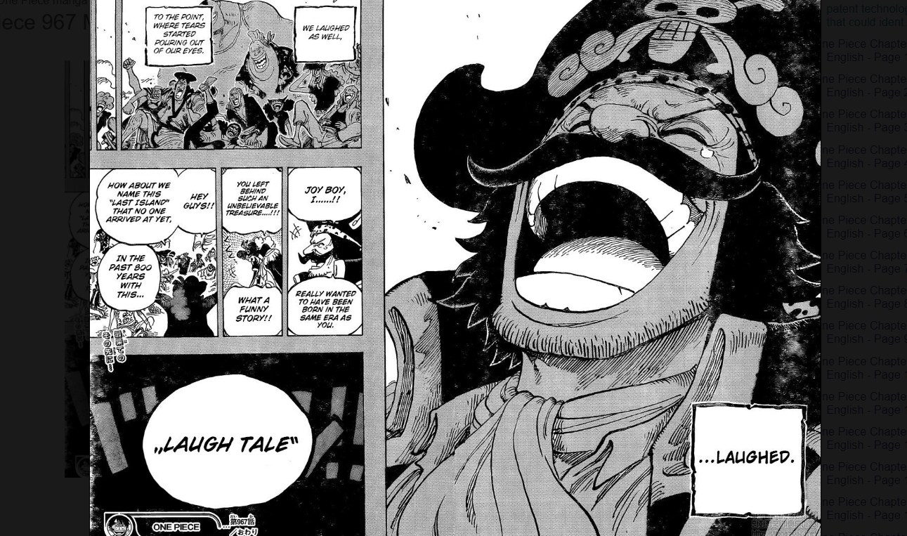 One Piece Chapter 967