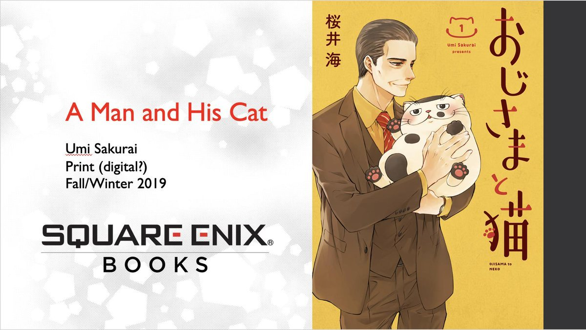 A Man and His Cat Live-Action TV Series is Green Lit!!