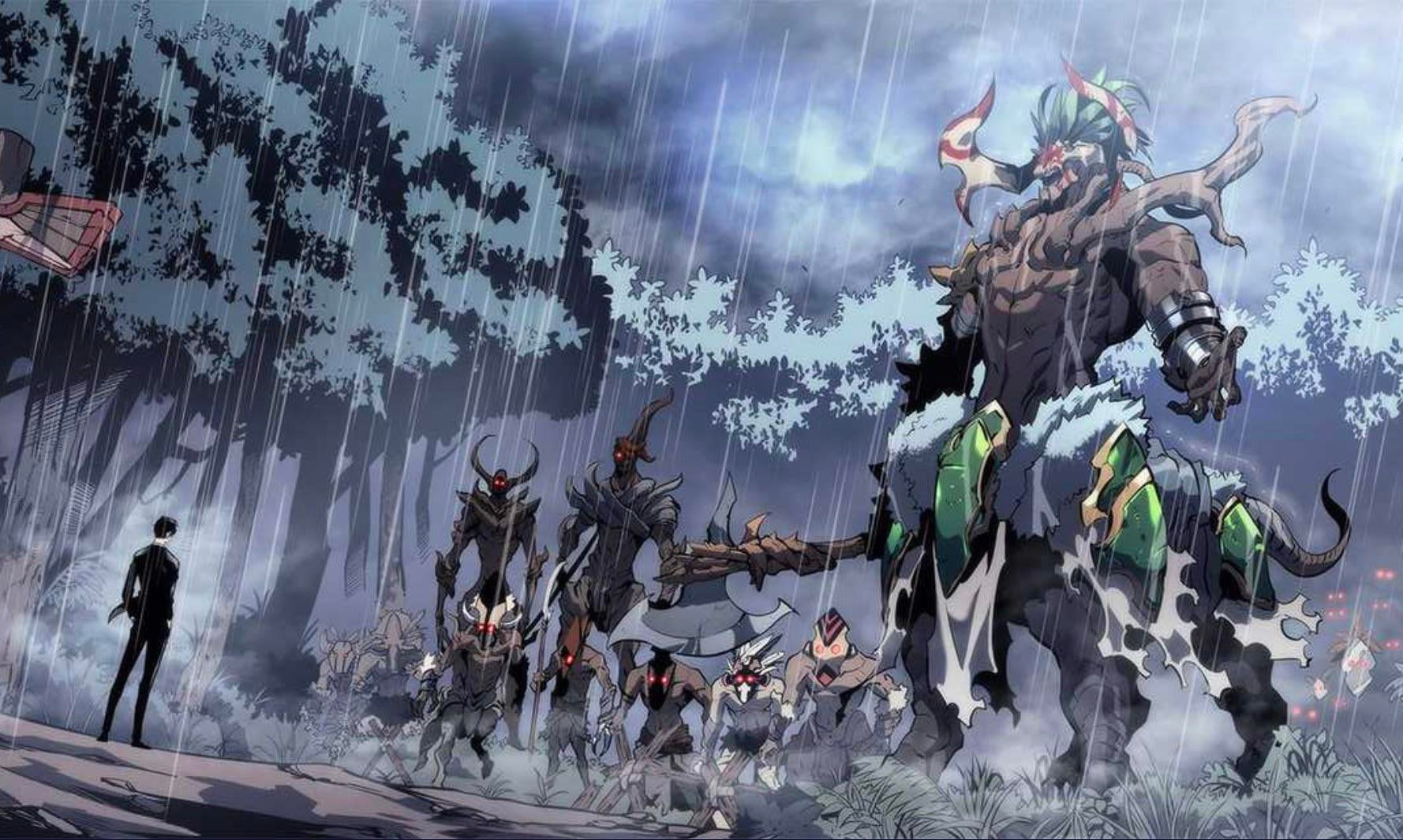 Solo Leveling Chapter 138 King of giants
