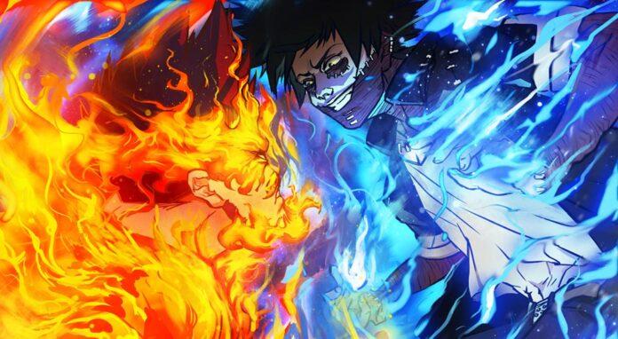 My Hero Academia Chapter 303, Shoto and Endeavor VS Dabi?