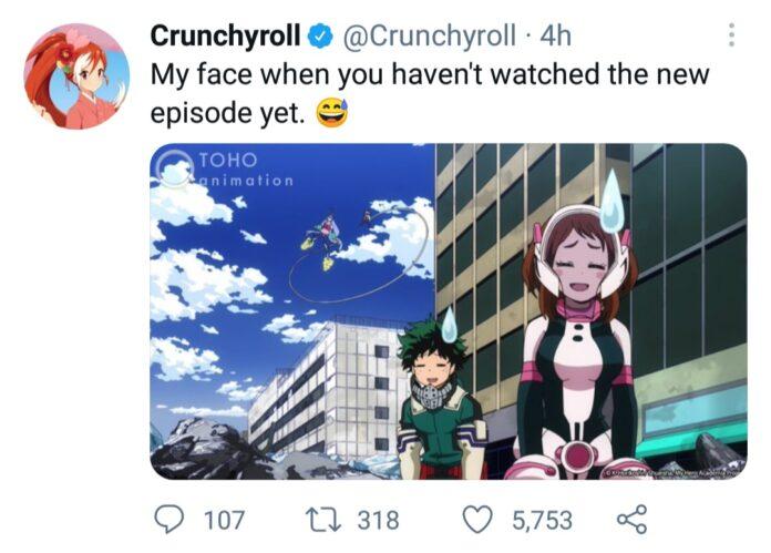 Crunchyroll on Twitter: Just a meme!