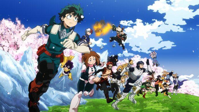 My Hero Academia Season 5, class 1-A