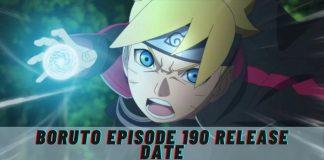 Boruto Episode 190