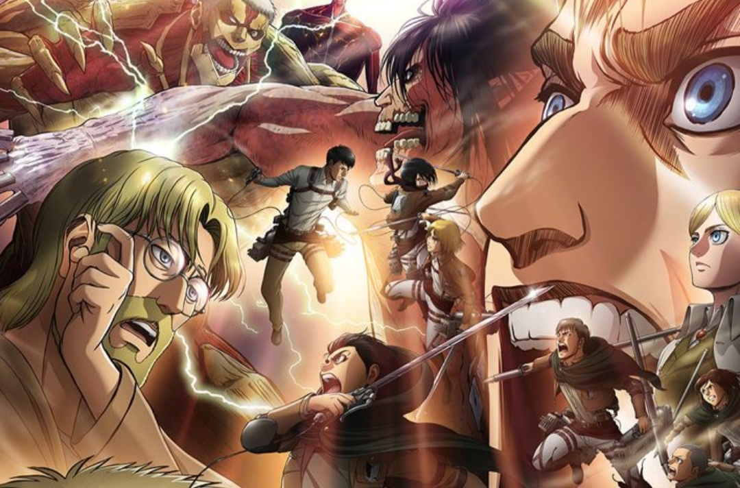 Attack on Titan is G. O. A. T! Here's What You Need To Know about the Anime
