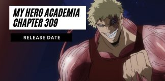 My Hero Academia Chapter 309 Release Date, Deku's Resolve and Determination!