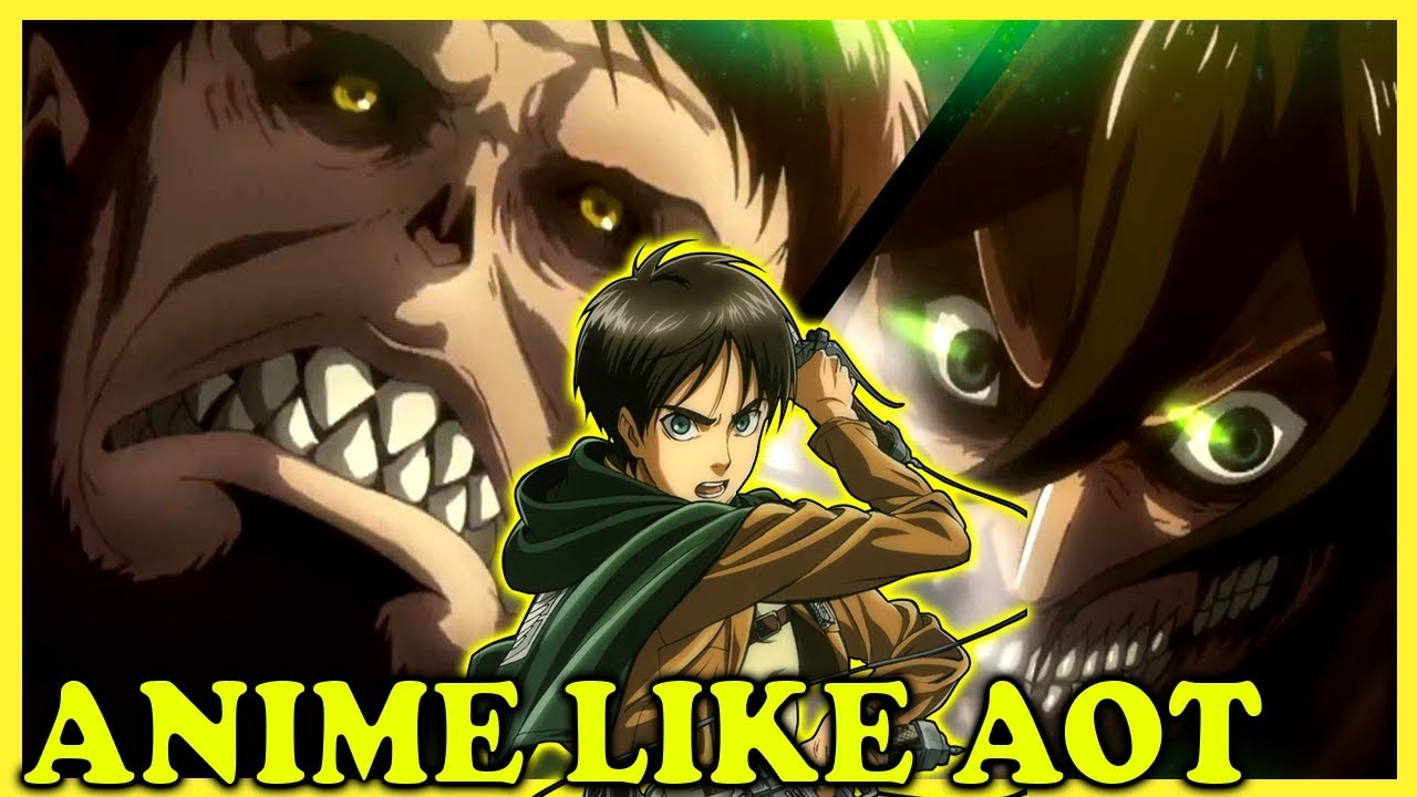 Top 10 Anime to Watch like Attack on Titan!