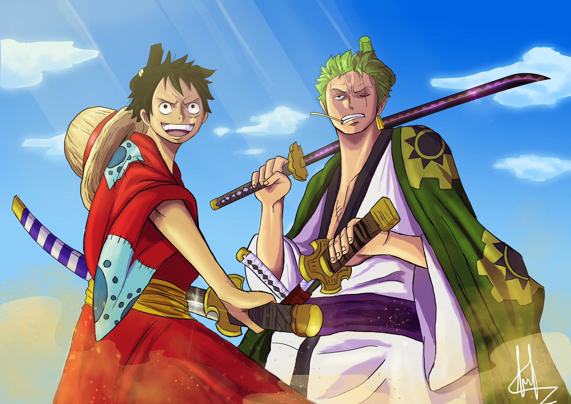 Zoro's father and his relation to Wano